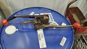 Used Signode Scm 34 Steel Strapping Combo Tool sealless