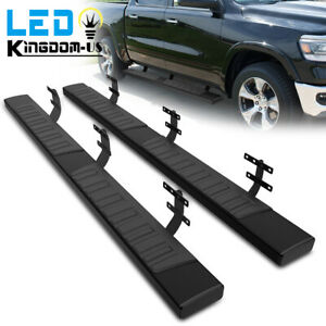 6 Running Boards For 2019 2021 Dodge Ram 1500 Crew Cab Nerf Bars Side Steps 2x