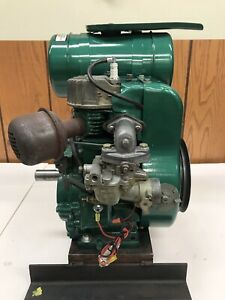 Vintage Wisconsin Engine Model S8d 10hp Cleaned And Tuned Electronic Ignition