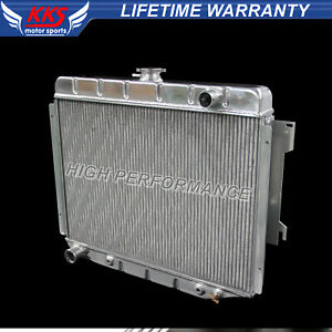 Kks 3 Rows Aluminum Radiator For 68 74 Dodge Charger Plymouth Mopar Big Block V8