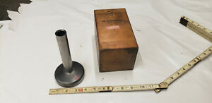 A a 6 Cylinder mag Square Magnetic 3 38 Base Toolmaker Machinist Tool