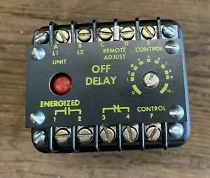 Industrial Solid State Controls 1013 1l2b Timer Delay Relay New In Box