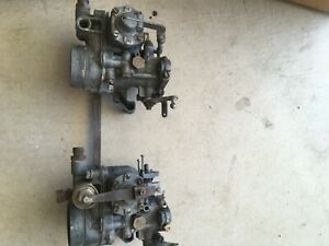 Solex 34 Picb Carbs Mercedes W111 Body 220 From 1959 To 1965 Bmw Zenith