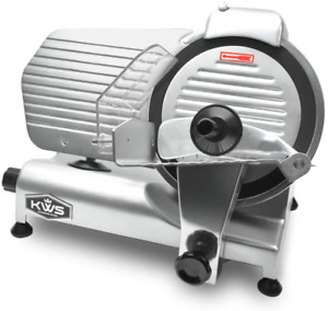 Kws Ms 10nt Premium Commercial 320w Electric Meat Slicer 10 inch With Non sti