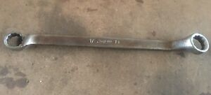 Snap On 17mm X 19mm Offset Box Wrench 12 Point Xbm1719