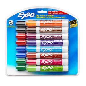 Sanford L p Expo Lowodor Dry Erase Markers 16 Pack