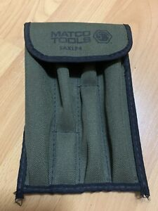 Matco Saxlp4 Spline Drive Extender 4pc Only The Green Pouch Bag No Tools