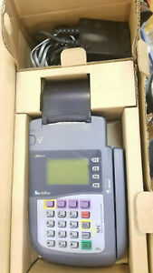 Verifone Omni 3200 Credit Card Reader Printer With Power Supply