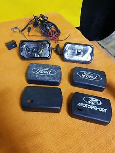 1984 1992 Marchal Sev 750 Fog Lamps And Covers Mark Vii Svo Mustang Gt Capri