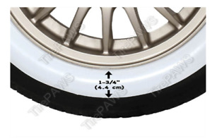 Atlas Car 15 X 2 White Wall Port a wall Tire Sidewalls Toppers Tire Insert