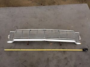 1965 Ford Galaxie Custom Grill 500 Grille Garage Wall Art Mancave 65 No Shipping