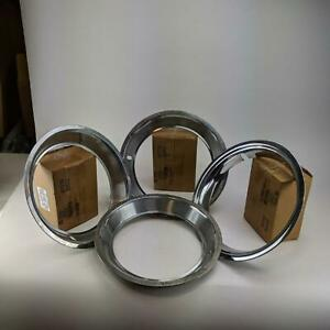 Vintage 14 Classic Ford Mustang Fairlane Trim Ring Style Hubcaps Wheel Cover