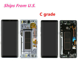 US For Samsung Galaxy Note8 N950 LCD Display Digitizer Screen Glass Frame C $95.95