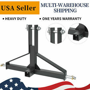 3 Point Hitch Receiver 2 Trailer Towing Drawbar Fit Imatch Cat 1 Tractor