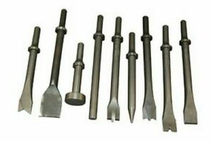Atd Tools 5730 All Purpose Air Hammer Chisel Set 9 Pc