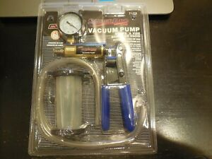 Super Pro Brake Bleeder And Vacuum Pump Kit 7123 Free Usa Shipping