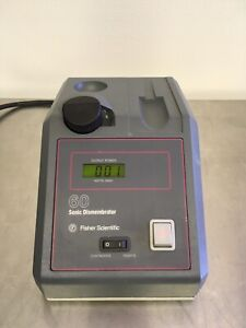 Fisher Scientific F60 Sonic Dismembrator Pre owned Missing Probe Warranty