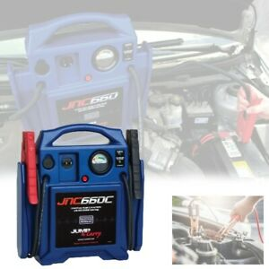 Heavy Duty Car Battery Jump Starter 12 Volt Automotive Booster Automatic Charger
