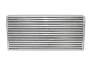 Vibrant Horizontal Air To Air Intercooler Core 22 W X 9 25 H X 3 25 Thick