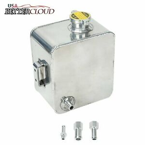 2 5l Universal Aluminum Coolant Radiator Overflow Recovery Water Tank Bottle Pro