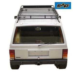 Eag Fits 84 01 Jeep Cherokee Xj Roof Rack Cargo Basket