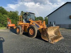 Samsung Sl 150 2 Wheel Loader