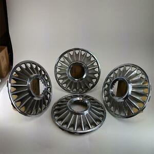 Ford Fairlane Mustang Hubcaps Vintage 1967 Standard 14 Wheel Cover 4 Pcs