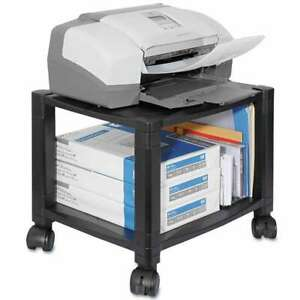 Kantek Mobile Printer Stand Two shelf 17w X 13 1 4d X 14 1 8h 750333635102