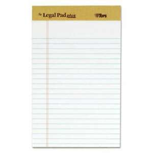 Tops the Legal Pad Ruled Perforated Pads Narrow 5 X 8 White 025932715006