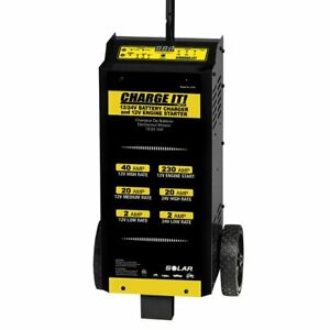 Clore Wheeled Battery Charger 40 20 2 230 Amp 12 24 V So4745 Free Shipping