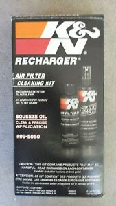 K n 99 5050 Recharger Air Filter Care Cleaning Service Kit Squeeze Oil Red