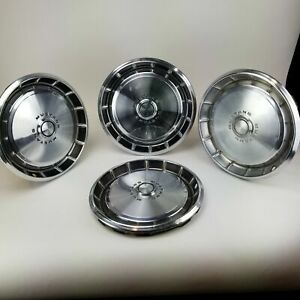 1971 1973 Ford Mustang Hubcaps Wheel Cover Center Cap Standard 14 Set Of 4