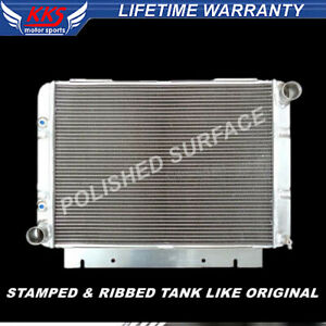 Kks 3 Rows Aluminum Radiator For 1960 1963 1961 1962 Ford Galaxie 500 Xl 3 3 7 0