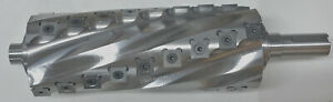 Helical spiral Cutterhead For Delta Dj 20 8 Jointer And Grizzly Etc