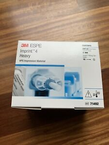 3m Imprint 4 Dental Vps Impression Material Heavy Body 4x50ml Cartridge 10xtips
