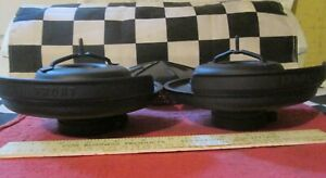 2 Used 54 Corvette Air Cleaner Bottoms bases Street Racer Hot Rod Hp