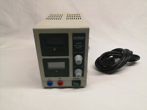 Extech Instruments 382202 Dc Power Supply 0 18volt 0 3a 115 230 Volt