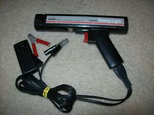 Tested Working Sears Craftsman Inductive Timing Light Gun 161 2137 Cables