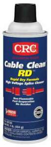 Crc Cable Clean Rd High Voltage Splice Cleaners 078254021508