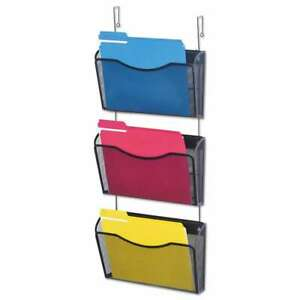 Universal Mesh Three pack Wall Files With Hanger Letter Black 087547200117