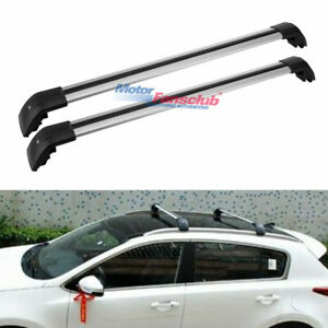 Top Roof Rack Rail Luggage Cross Bar For Lexus Rx450hl Rx350l 2016 2019 Silver