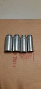 Mac Tools Lot Of 4 Deep Well Sockets 3 8 Drive