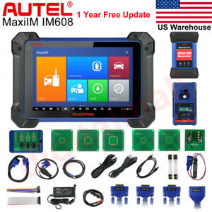 Autel Im608 Diagnostic Tool Immo Ecu Coding Key Programming For Benz Bmw Ford Gm