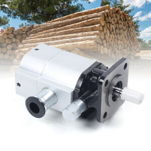 16 Gpm Hydraulic Log Splitter Pump 2 Stage Hi Lo Gear Pump 3000 Psi Logsplitter