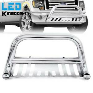3 Stainless Steel Bull Bar Bumper Guard For 04 20 Ford F 150 03 17 Expedition