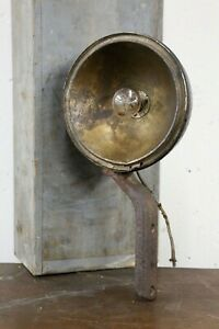 Antique Automobile Headlight Brass And Metal Fog Lamp Light Ford Model T A Old