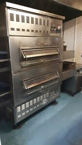 Middleby Marshall Js 300 1 Double Deck Conveyor Pizza Oven Gas