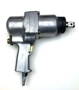 Vintage Milwaukee Pneumatic 601166 3 4 Super Heavy Duty Air Impact Wrench Tool