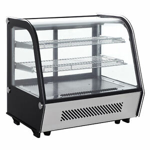 Doughxpress Dxp ref28 37 Full Service Countertop Refrigerated Display Case