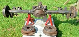 1970 Chevelle Ss 396 454 Ls6 12 Bolt Posi Rear End Differential Complete